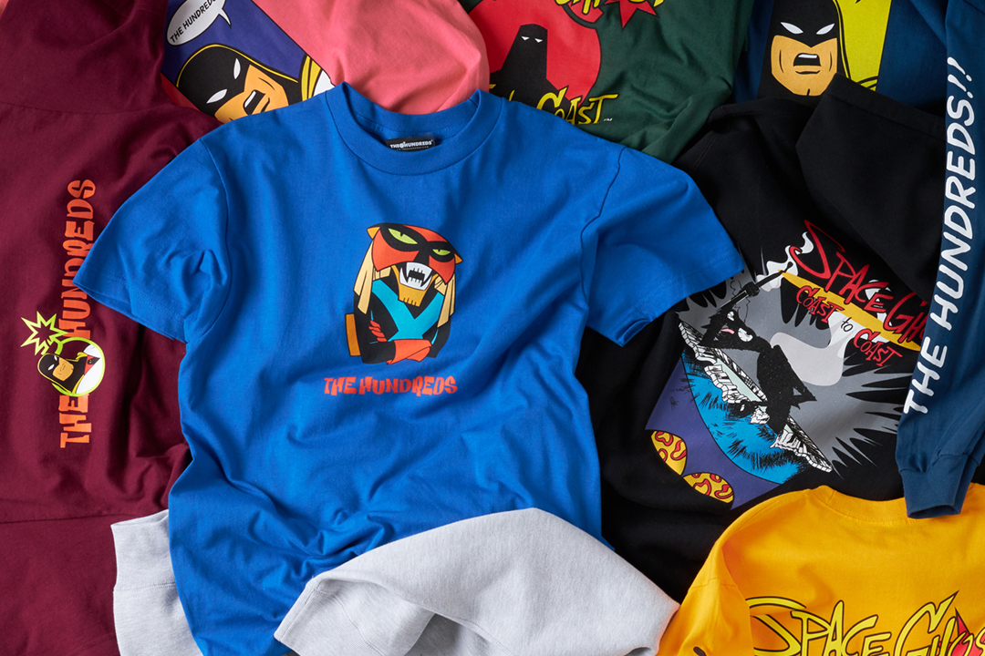 The Hundreds Gets Nostalgic With Graphic-Heavy 'Space Ghost Coast to Coast' Capsule